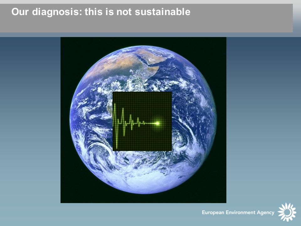 Our diagnosis: this is not sustainable