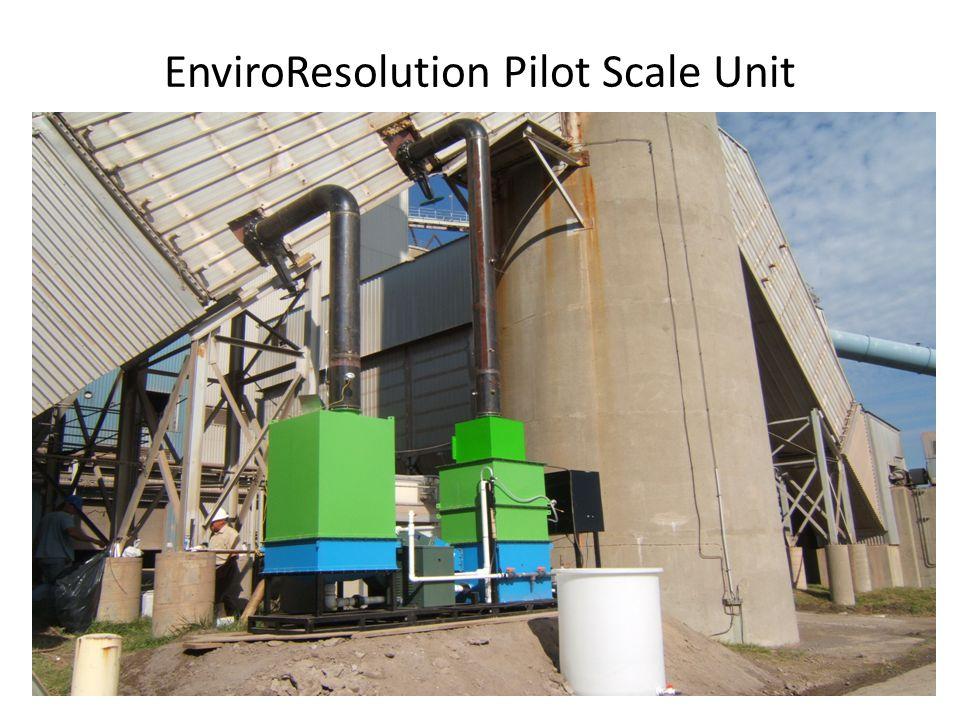 EnviroResolution Pilot Scale Unit