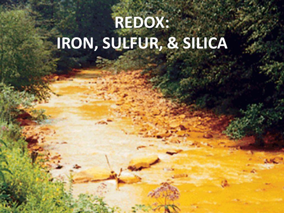 REDOX: IRON, SULFUR, & SILICA