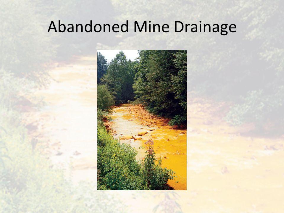 Abandoned Mine Drainage