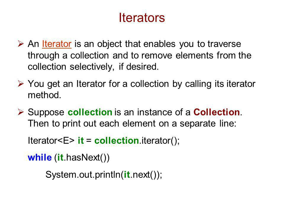 Iterable Collection Abstract Collection Queue List Abstract Queue Priority Queue Array List Abstract List Vector Stack Linked List Abstract Sequential List Interface Abstract Class Class The Java Collections Framework (Ordered Data Types)