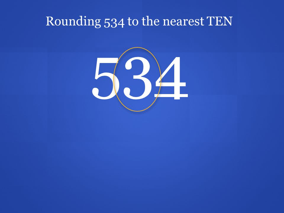 We just rounded 2,372 to the nearest hundred. The nearest hundred is 2,400.