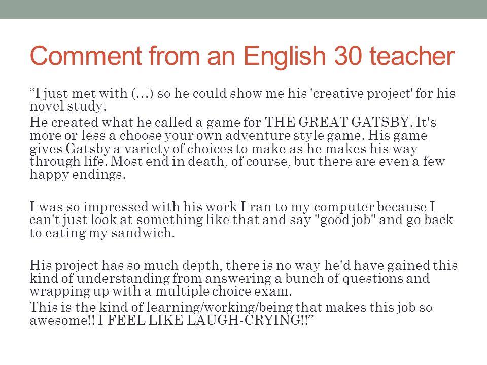 From the Math teacher...