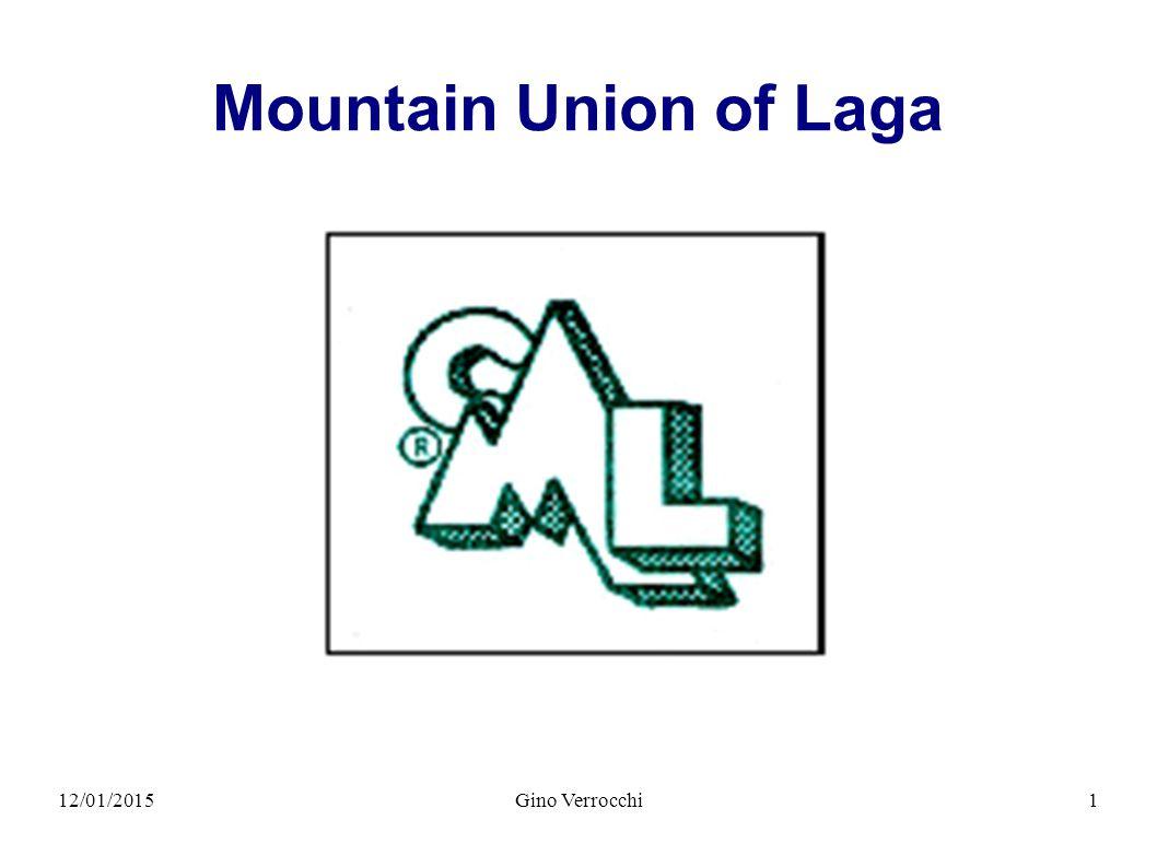 12/01/2015Gino Verrocchi2 Mountain Union of Laga
