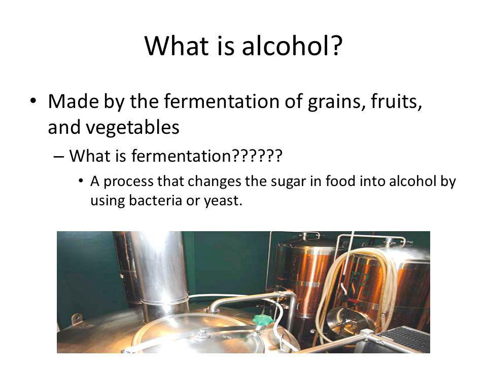 Why do you think it is important for you to know about alcohol.