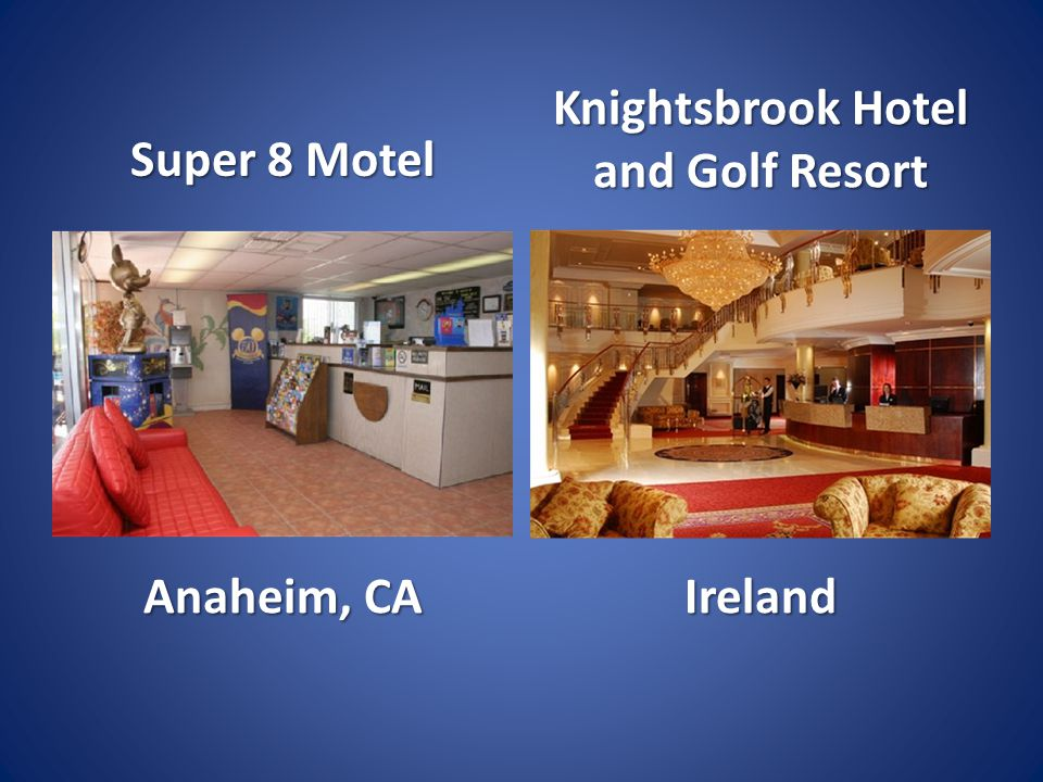 Super 8 Motel Anaheim, CA Knightsbrook Hotel and Golf Resort Ireland