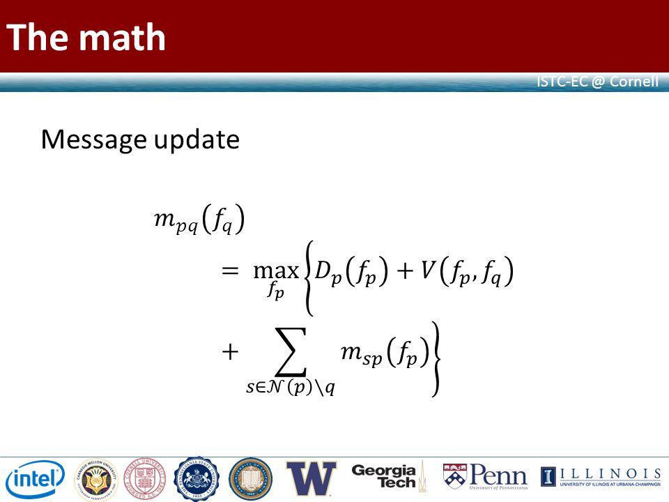 ISTC-EC @ Cornell The math
