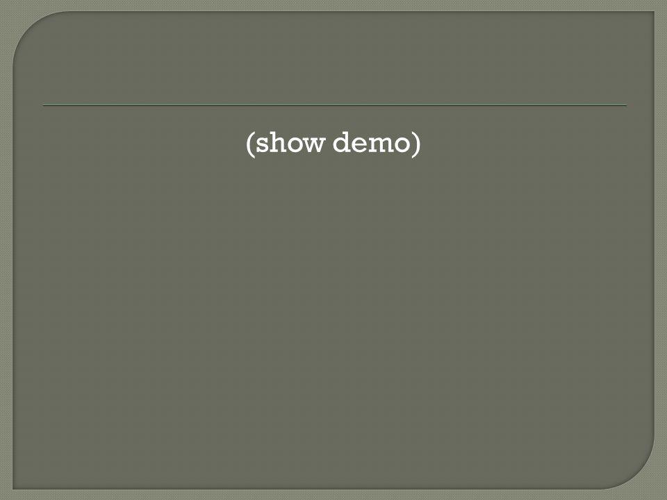 (show demo)
