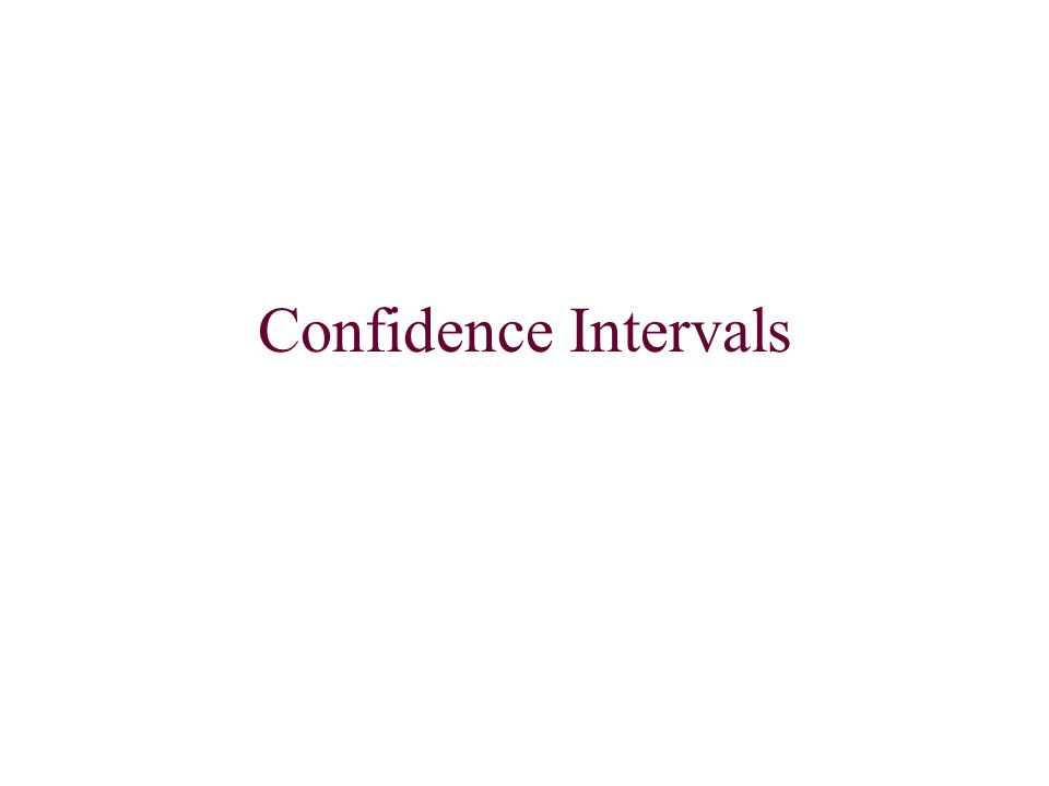 Whenever we make a confidence interval we should follow these steps to be sure that we include all parts: State the type of interval (our first intervals are Z-intervals) Meet assumptions (explain how each is met) SRS: Our sample must be a random selection of the population.