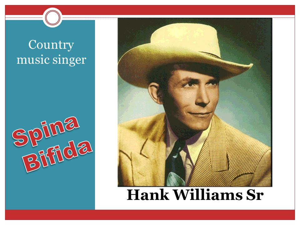Hank Williams Sr Country music singer