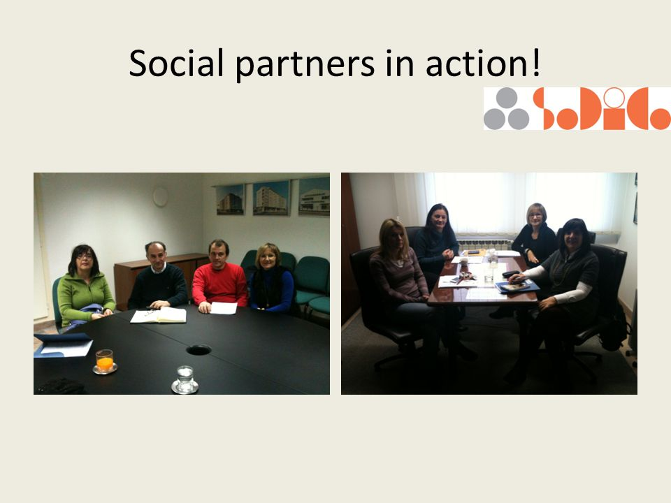 Social partners in action!
