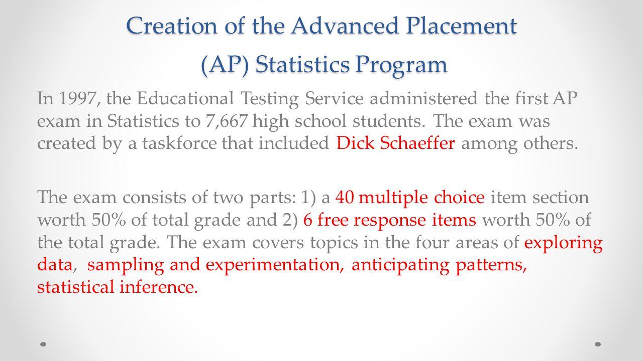 Growth of the AP Statistics Exam
