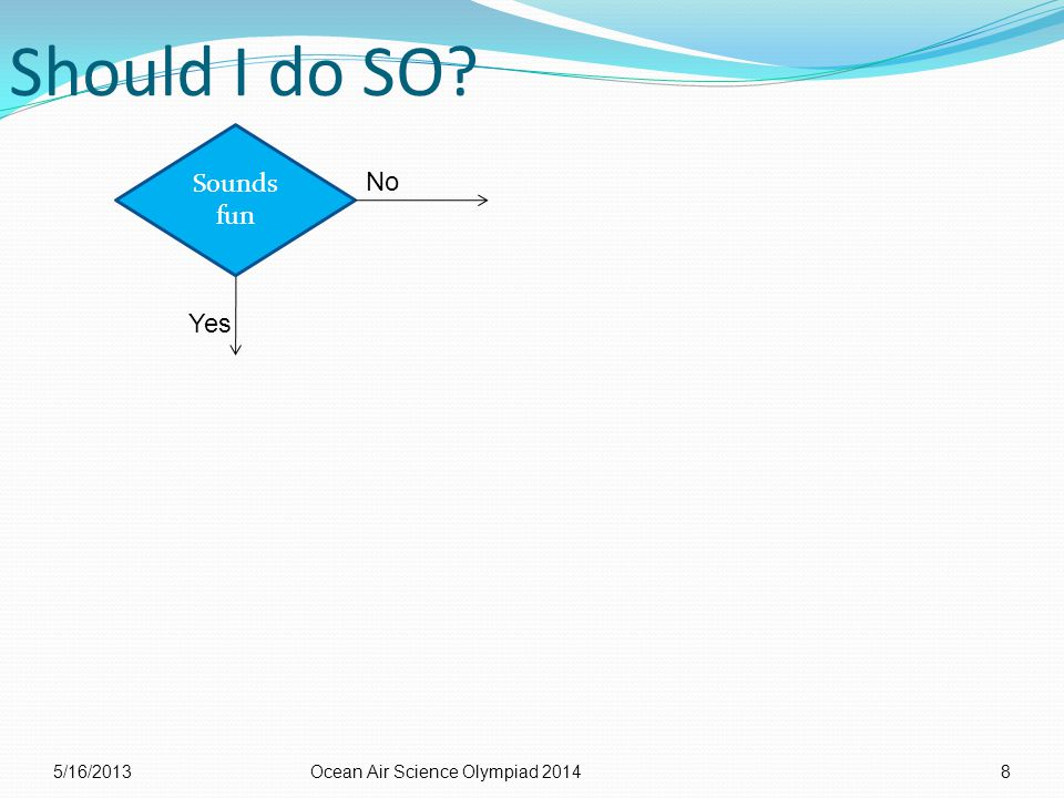 Should I do SO 5/16/2013Ocean Air Science Olympiad 20148 No Sounds fun Yes