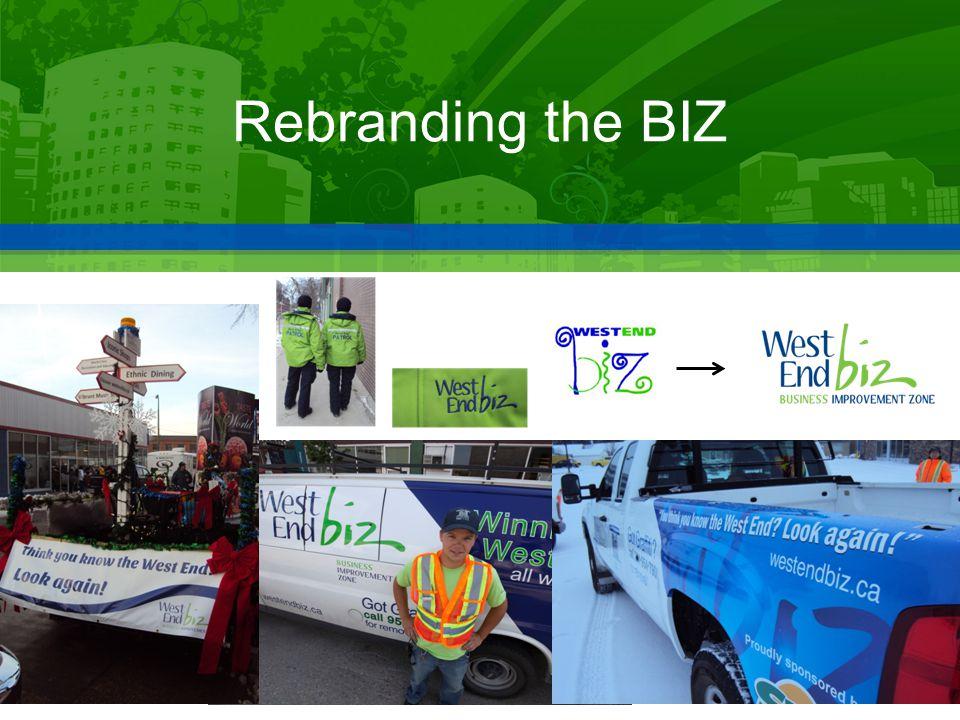 Rebranding the BIZ