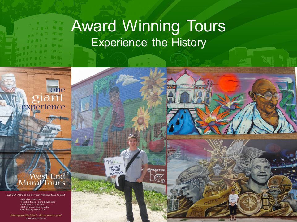 Award Winning Tours Experience the History