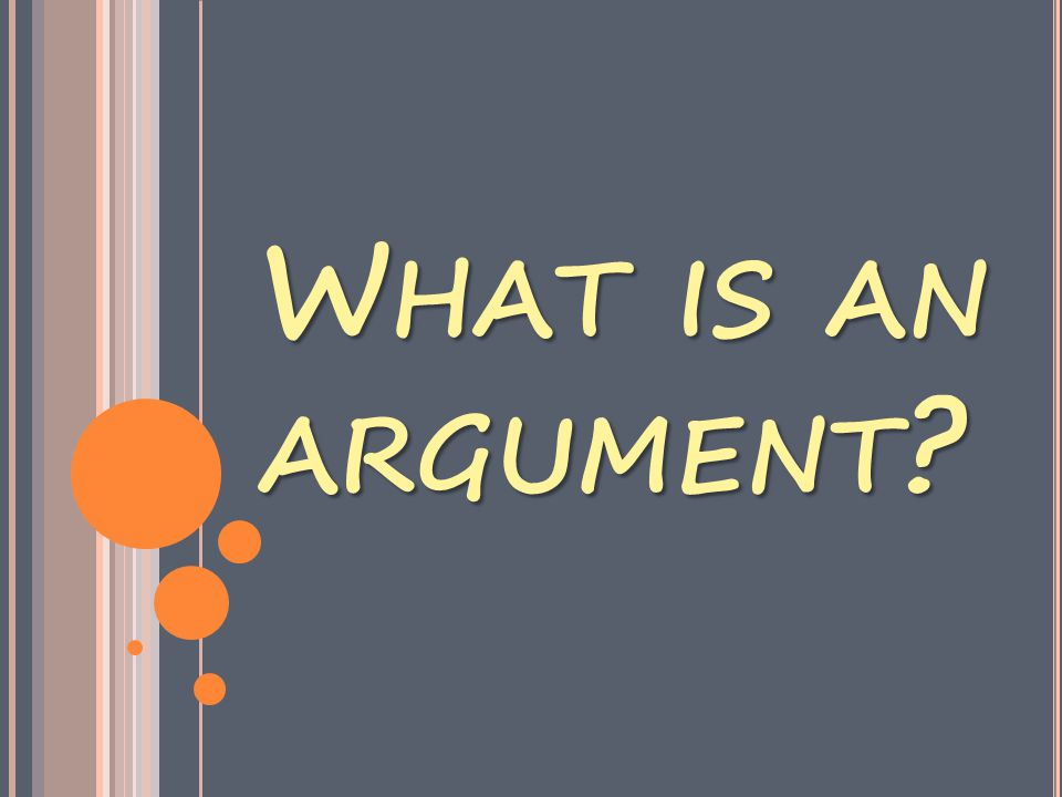 S O NOW … HOW DO I MAKE MY ARGUMENT POINTS A THREE POINT THESIS STATEMENT .