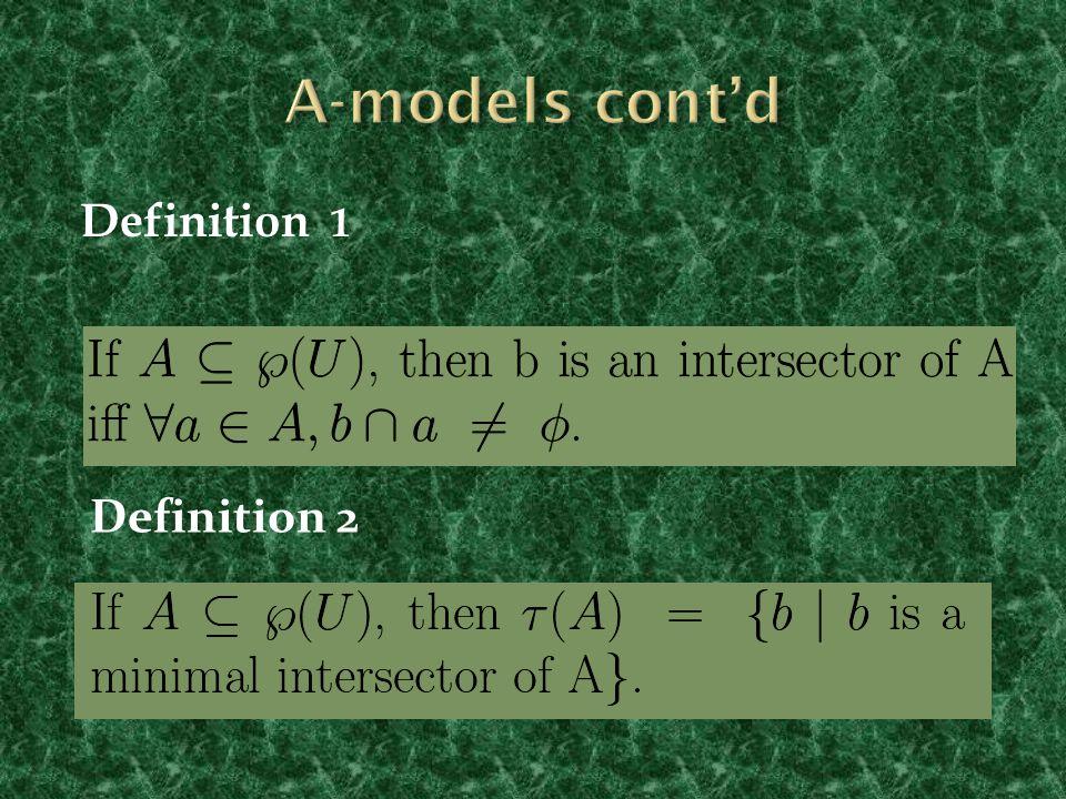 Definition 2 Definition 1