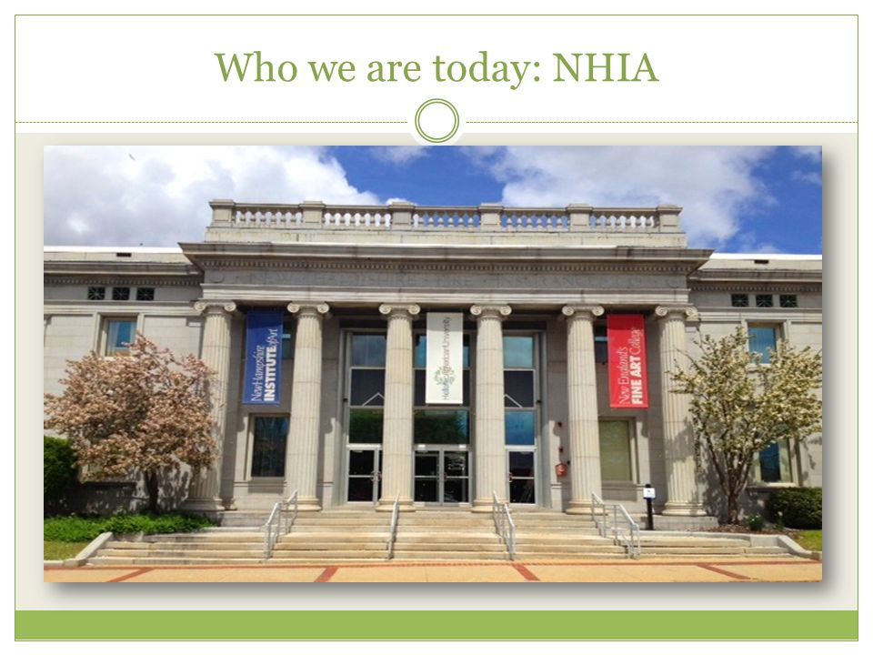 Who we are today: NHIA