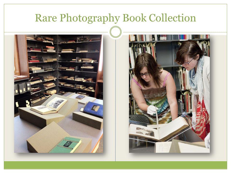 Rare Photography Book Collection