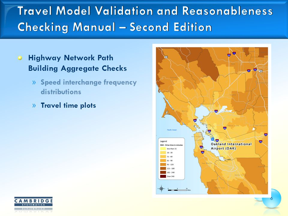 Highway Network Path Building Aggregate Checks » Speed interchange frequency distributions » Travel time plots 6