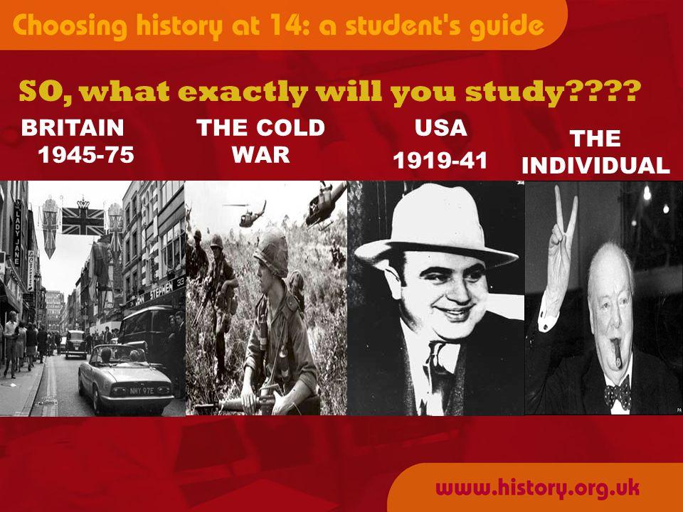 The British Depth Study 1 How did British Society Change 1945-1975.