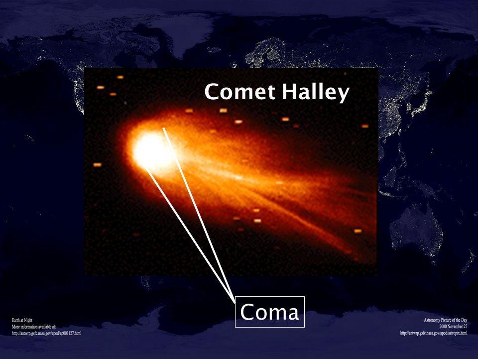 Coma Comet Halley