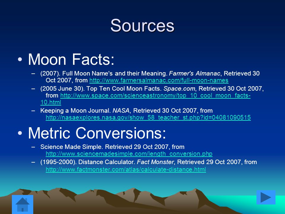 Oh and just in case… You might be wondering: There has been no reported findings of cheese on the moon.
