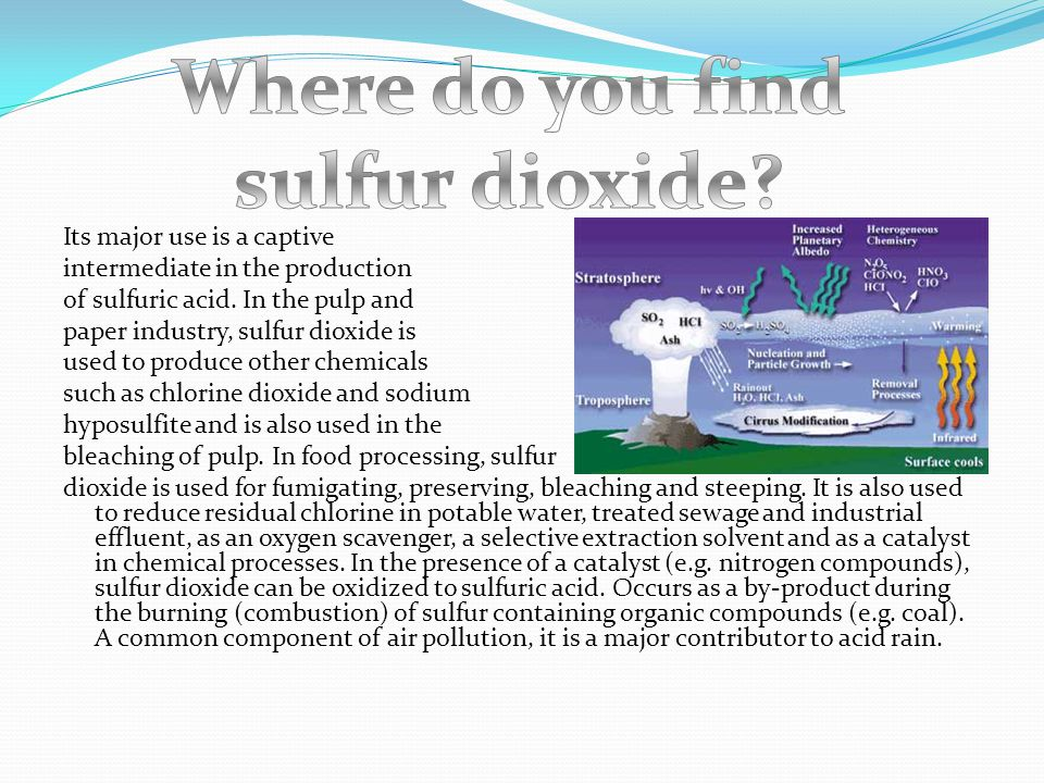 Sulfur dioxide is a colourless gas with a pungent, irritating odour similar to burning sulfur. It is a colourless liquid below -10 deg C. Sulfur dioxi