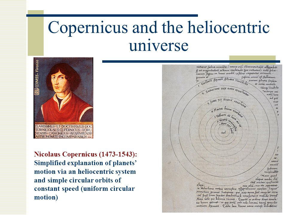 The crisis of the Copernican paradigm and the new astronomy of Kepler Johannes Kepler (1571-1630) was a convinced Copernican but studying new observations on the motion of Mars he realized that they were not compatible with the Copernican system.