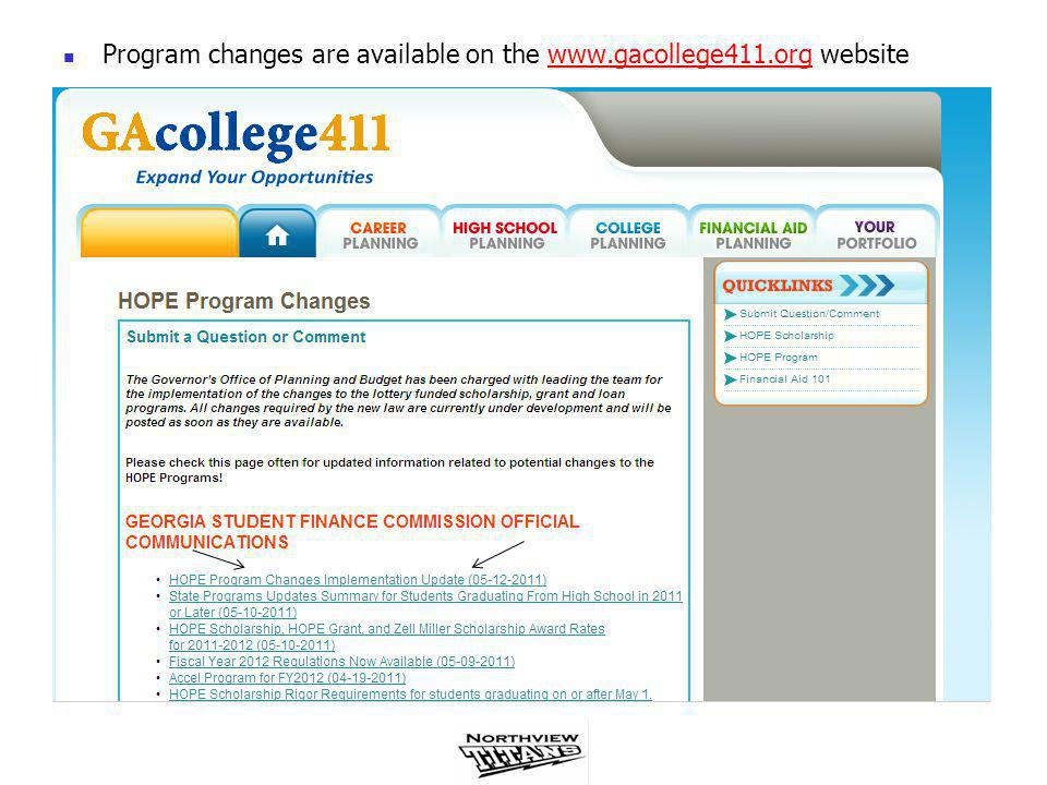 NCAA Initial-Eligibility Clearinghouse If you are planning on participating in intercollegiate athletics at an NCAA Division I or II institution you must register with the NCAA Initial-Eligibility Clearinghouse Access the registration materials by visiting the NCAA website www.ncaaclearinghouse.net www.ncaaclearinghouse.net When taking the SAT/ACT, enter 9999 for scores to be sent to NCAA Students and parents are responsible for determining NCAA eligibility to Division I and Division II schools Counselor's are neither responsible nor allowed to determine eligibility Be aware that the NCAA may or may not approve courses taken through a non-traditional format such as online, distance learning, correspondence, credit recovery, etc.