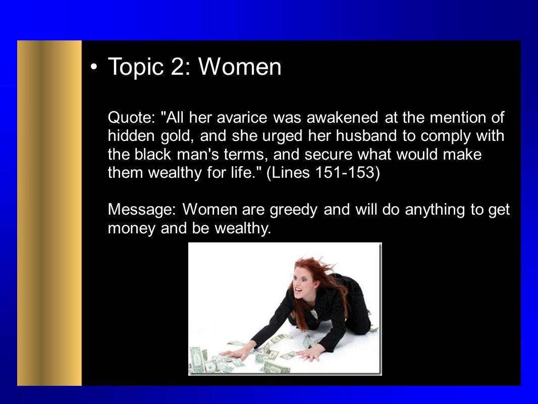 Topic 2: Women Quote: