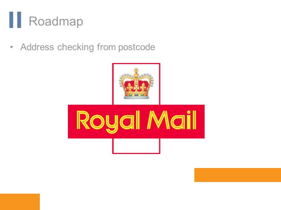 www.orbis-software.com Roadmap Address checking from postcode