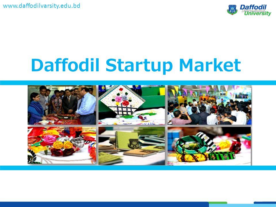 Daffodil Startup Market www.daffodilvarsity.edu.bd