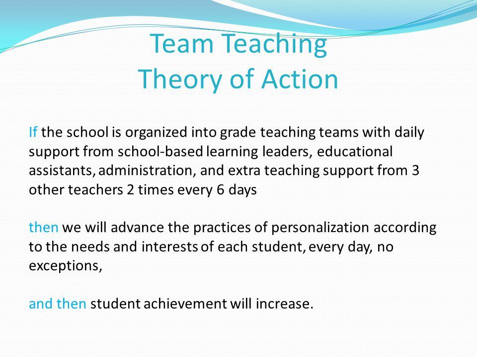 Why team teaching.