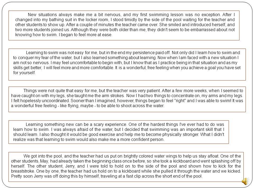 Sample Essay 1