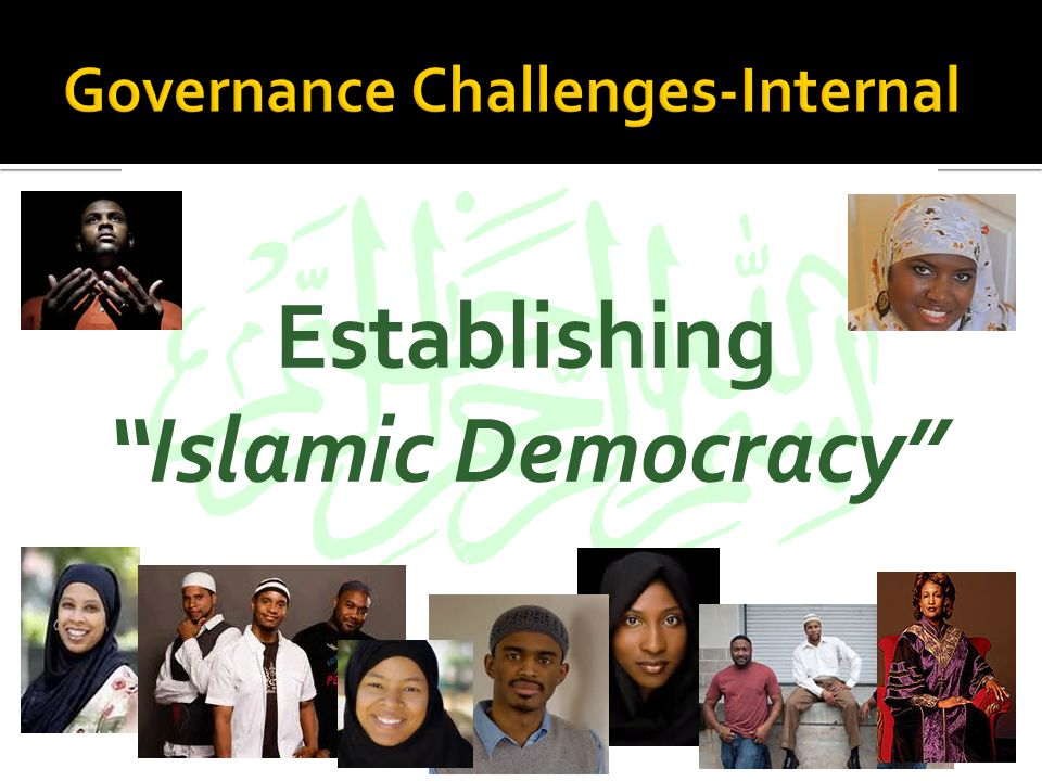 Establishing Islamic Democracy