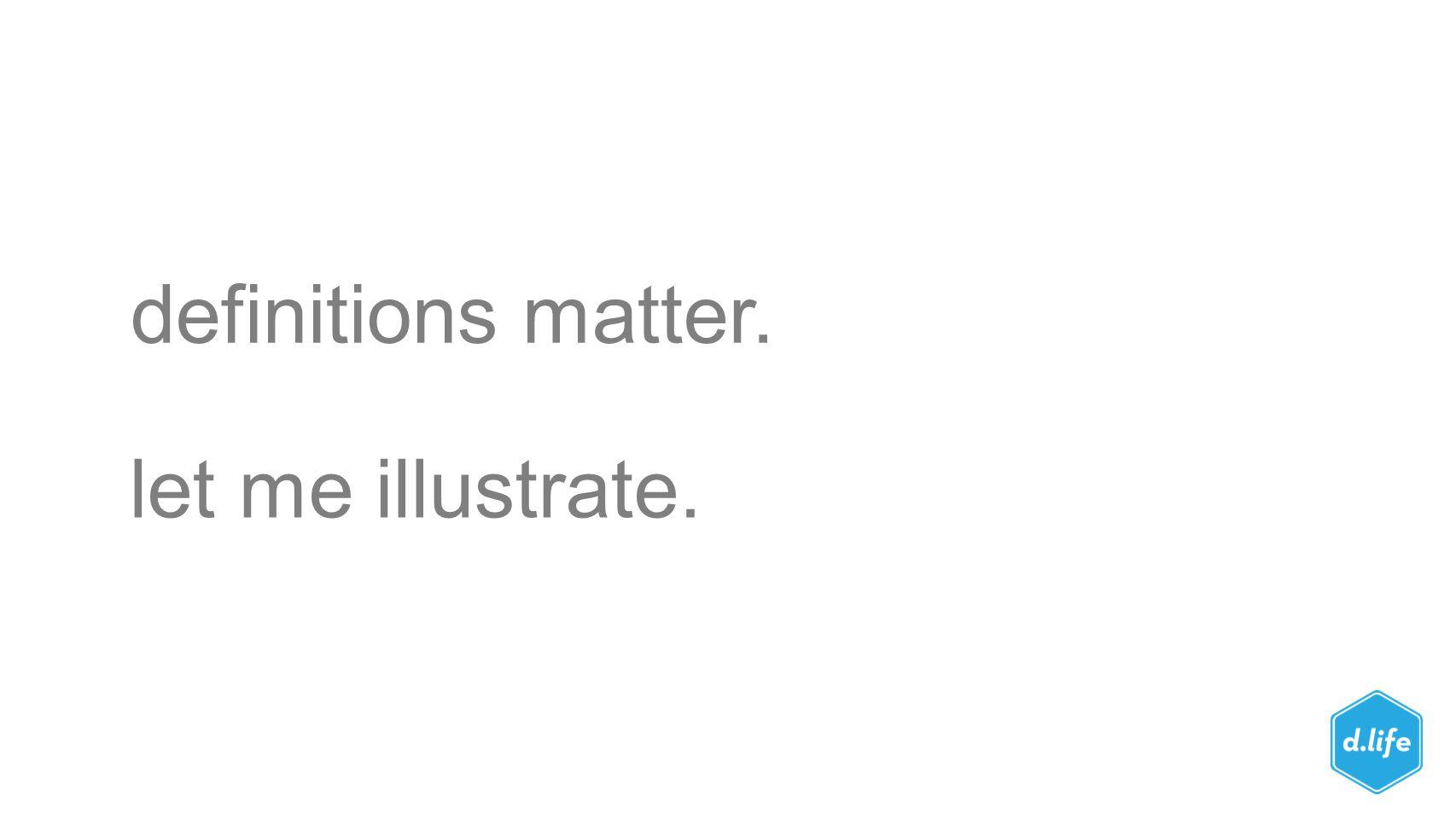 definitions matter. let me illustrate.