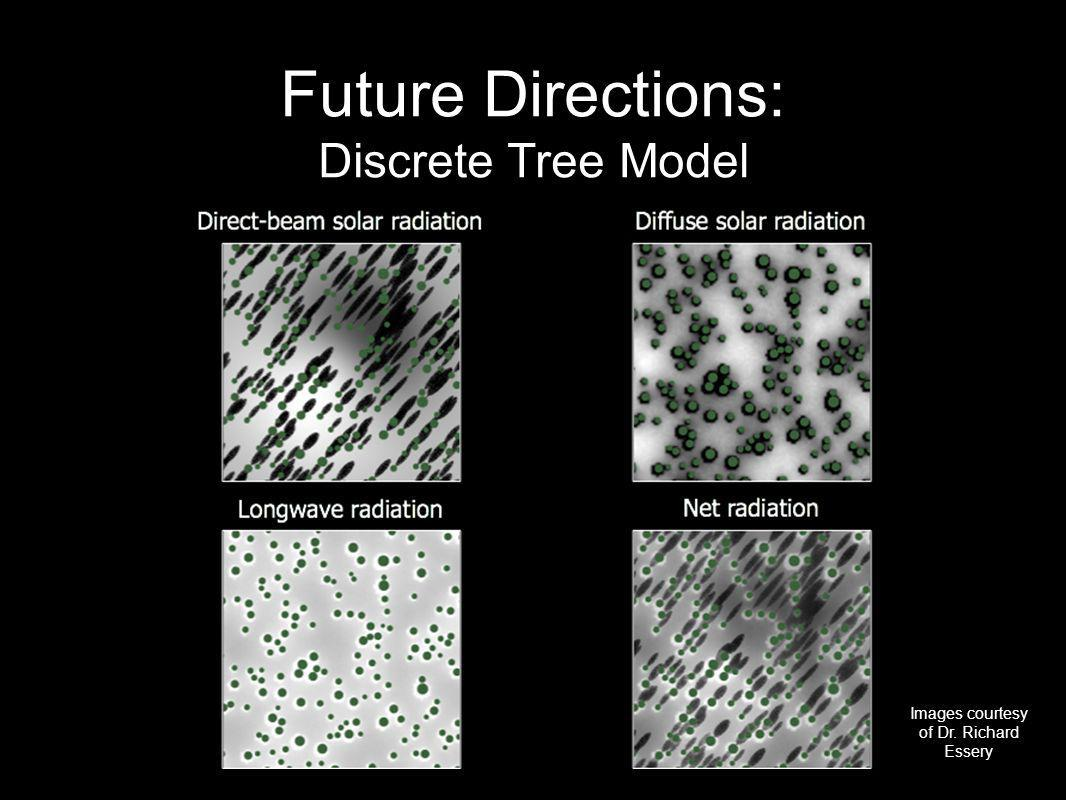 Future Directions: Discrete Tree Model Images courtesy of Dr. Richard Essery