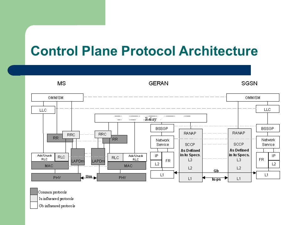 Control Plane Protocol Architecture