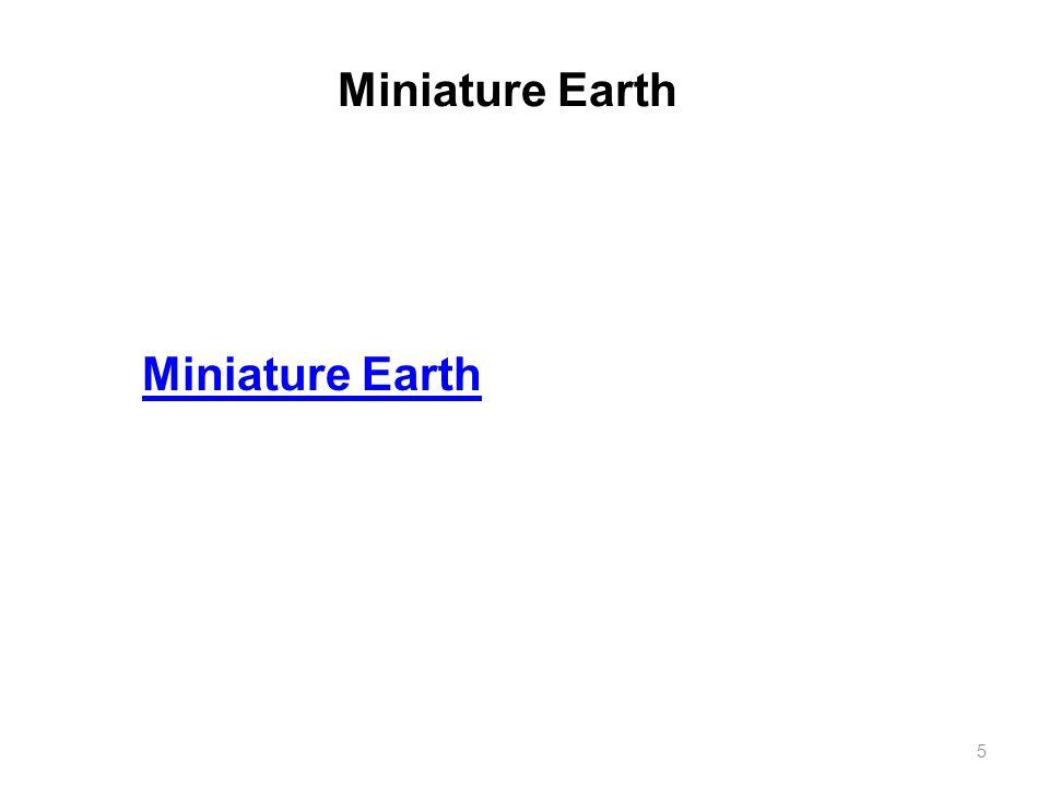 Miniature Earth 5