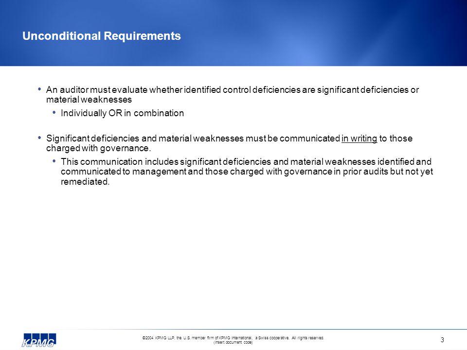 ©2004 KPMG LLP, the U.S.member firm of KPMG International, a Swiss cooperative.