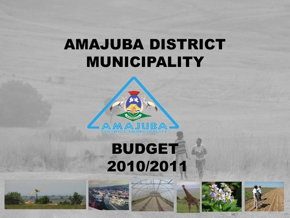 This presentation is designed to provide a general overview of the Municipality's finances and to demonstrate the Municipality's accountability for the money it receives.