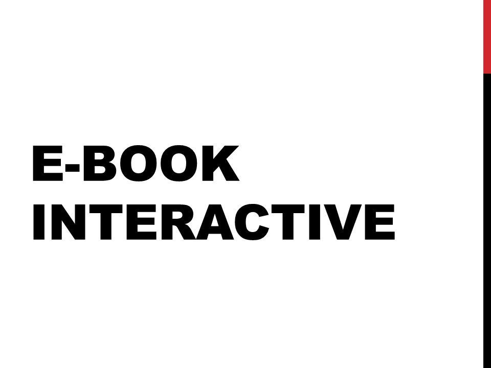 E-BOOK INTERACTIVE