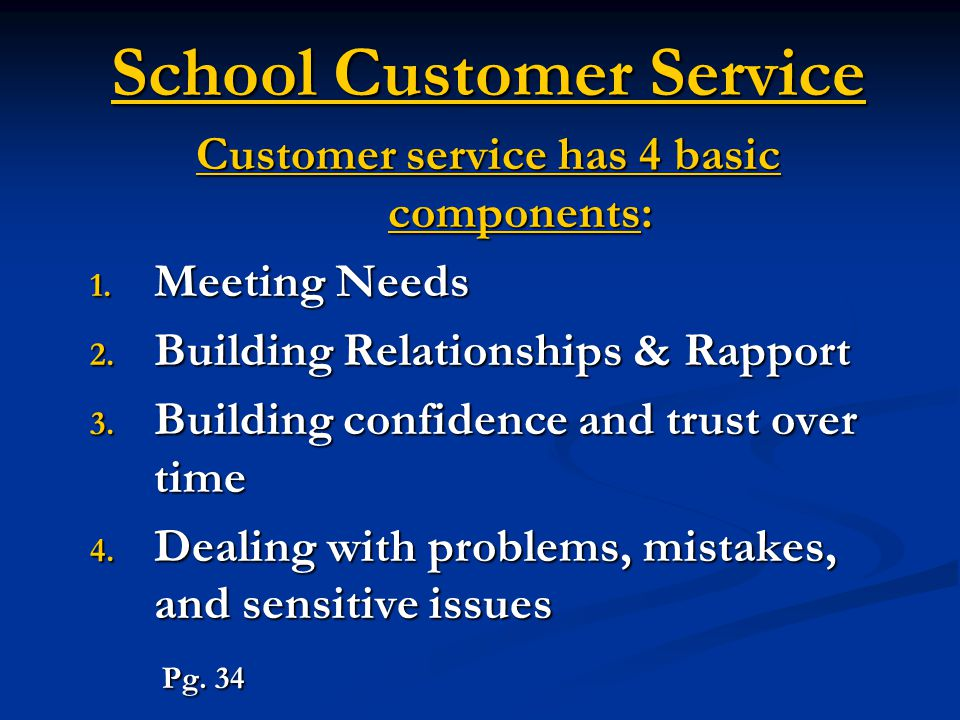 School Customer Service Activity #1 1.Where have you received bad customer service.