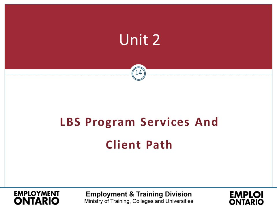 14 Unit 2 LBS Program Services And Client Path