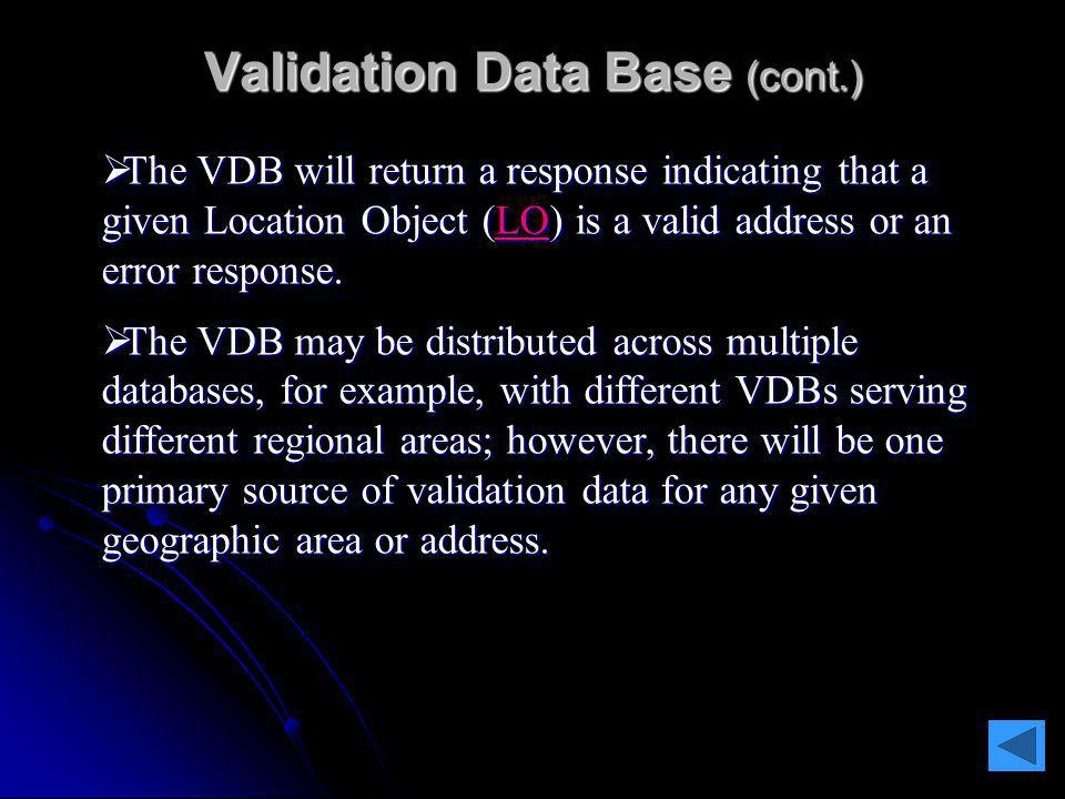 Root Discovery Operator The RDO is also responsible for: consolidating the discovery information as received by all VDB and ERDB operators, consolidat