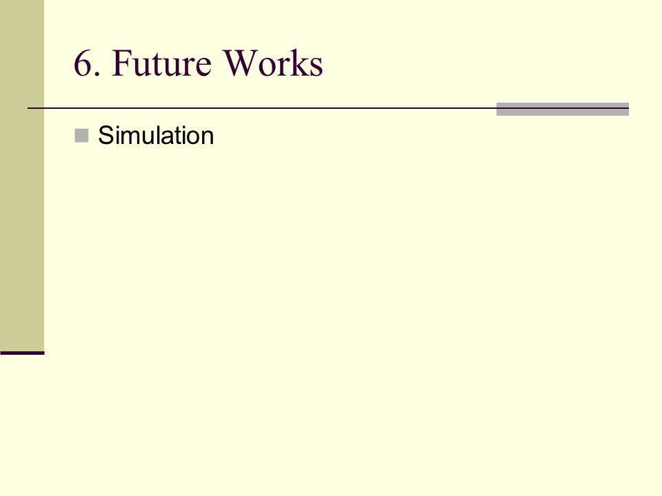 6. Future Works Simulation