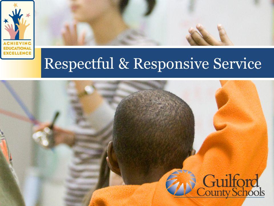 Respectful & Responsive Service