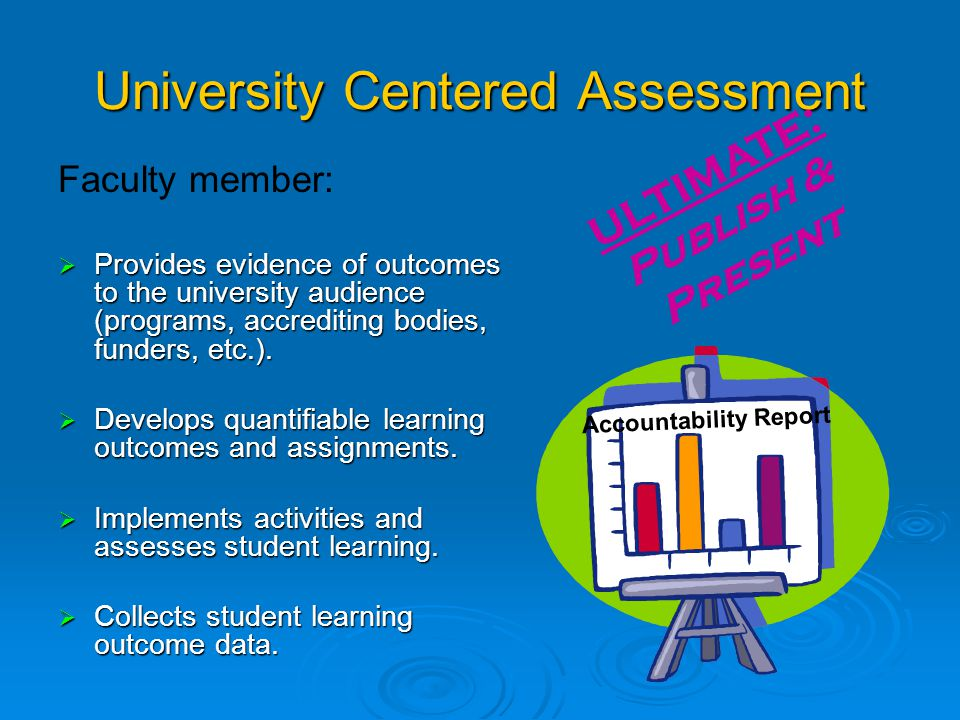 What do we think about Assessment. We rarely think about different ways of Assessment.