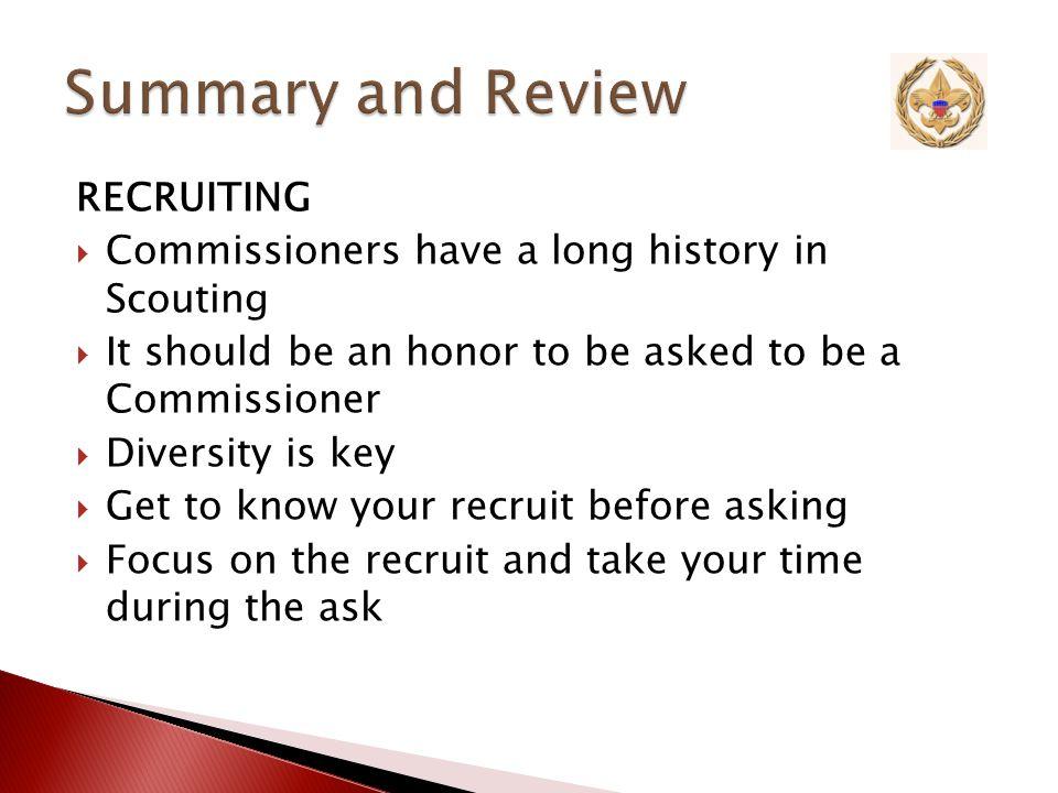 Recruiting Unit Visitation Assessment